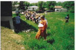 Sacred Pole Anauguration Ceremony or Bon Banchos Sima(between          June 13-15, 2003)